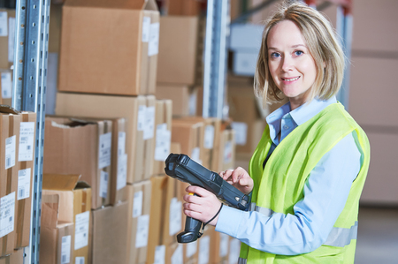 warehouse barcode scanner
